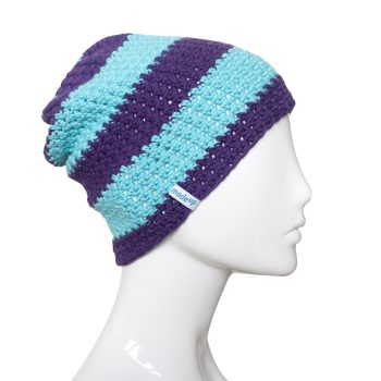 beanie-stripes-darkpurple-lighttorqouise